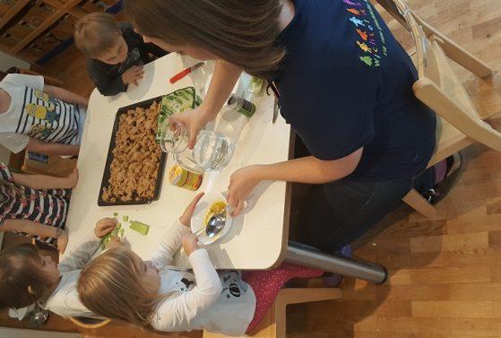Thanksgiving-Kochen