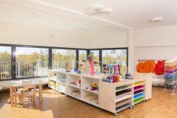 Garten Kindergarten und Kinderkrippe München Neuhausen Wichtel Akademie