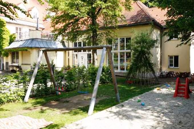 Garten Kita Harlaching an der Isar - Wichtel Akademie München