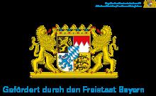 Logo Freistaat Bayern Foerderung durch Sozialministerium