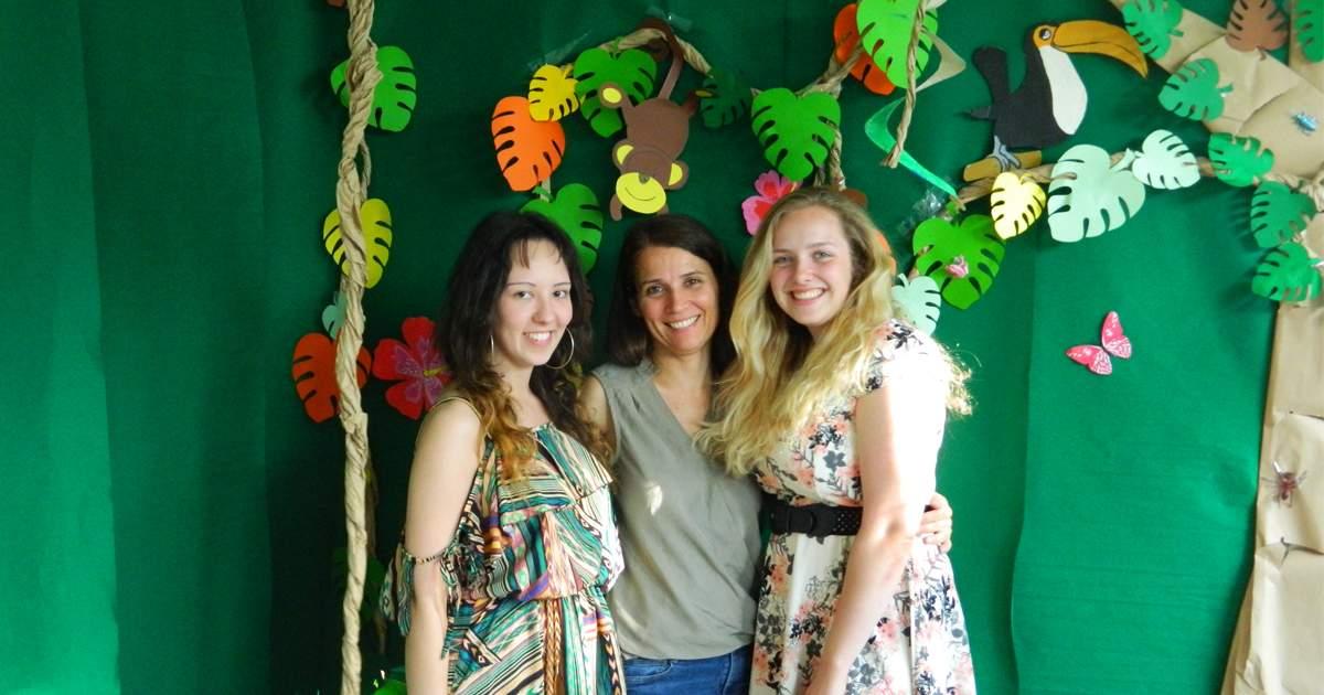 Kinder, Eltern und pädagogische Mitarbeiter feierten kürzlich das erste Sommerfest der Wichtel Akademie am Standort Hadern