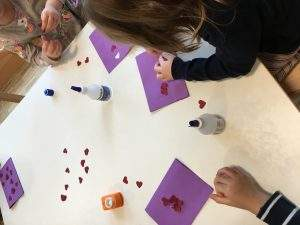 Kinder basteln Karten