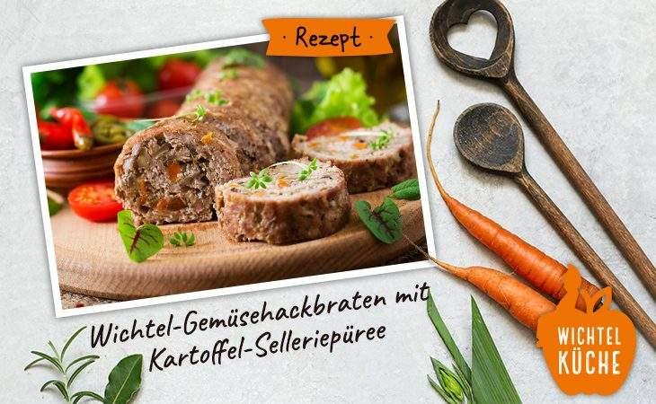 Rezept Gemüsehackbraten
