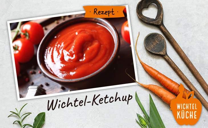 Rezept für Ketchup aus der Wichtel Akademie