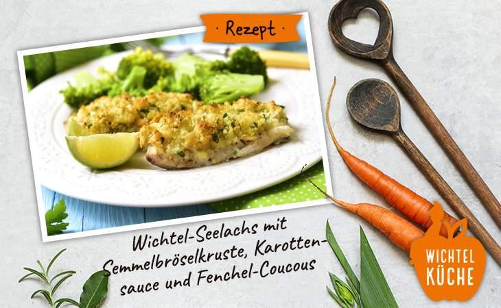 Rezept Seelachs mit Semmelbröselkruste