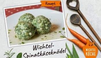 Rezept für Spinatknoedel