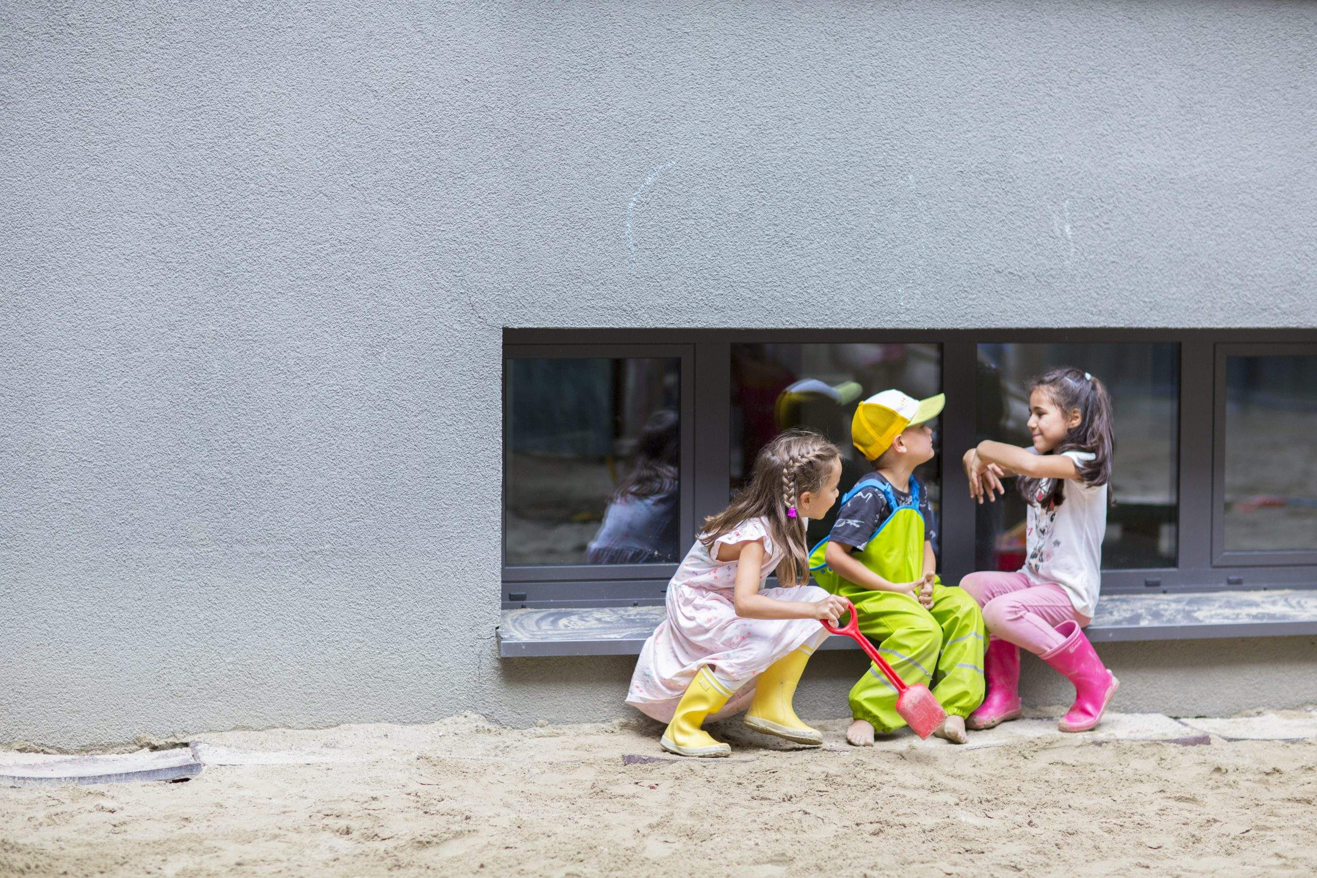 Kindergartenkinder der Wichtel Akademie