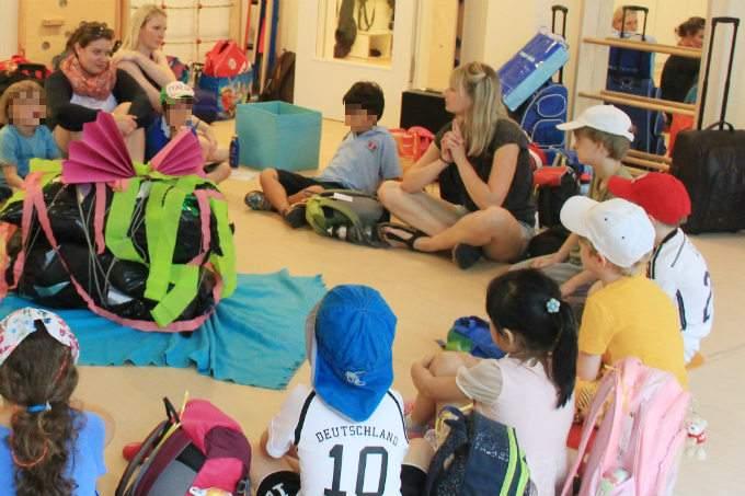 Schulkinder - Vorbereitung - Abschied - Wichtel Akademie München