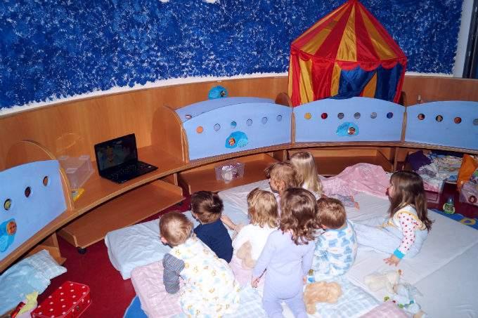 Übergang von Krippe in den Kindergarten - Kita Laim