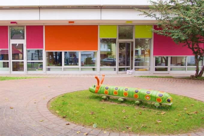 Außenbereich Kita München Fürstenried Wichtel Akademie