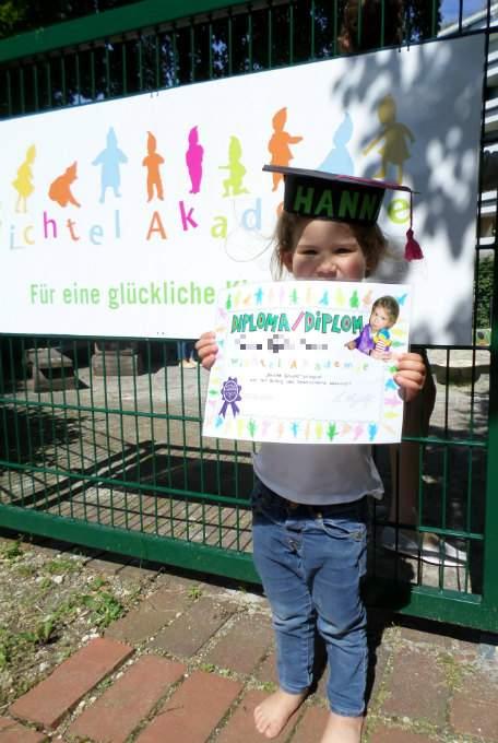 Poster- Kinderkrippe - Spanisch - Wichtel Akademie München