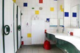 Sanitärbereich Kita Garching Wichtel Akademie München