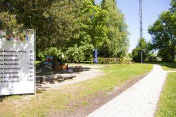 Außenbereich Kita Garching Wichtel Akademie München