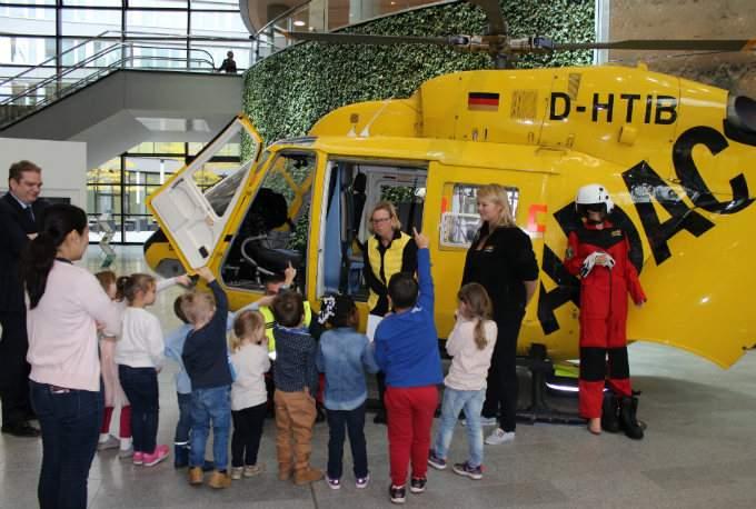 Helikopter - ADAC - Wichtel Akademie München