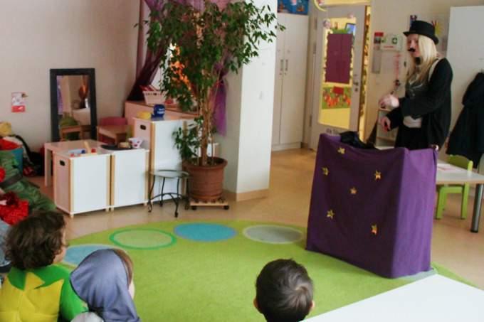 Kindergarten Biederstein Schwabing Fasching Padagogik