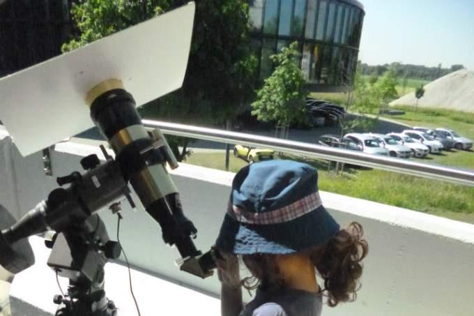 Sterne beobachten - Teleskop - Wichtel Akademie München