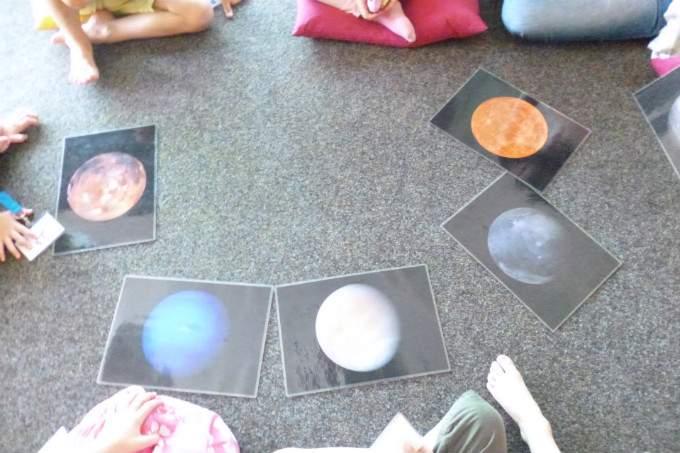 Planeten - Lernen - Wichtel Akademie München