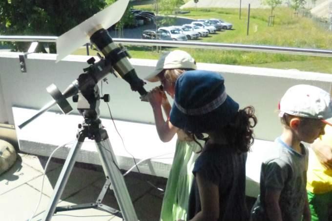 Teleskop - Astronomie - Wichtel Akademie München