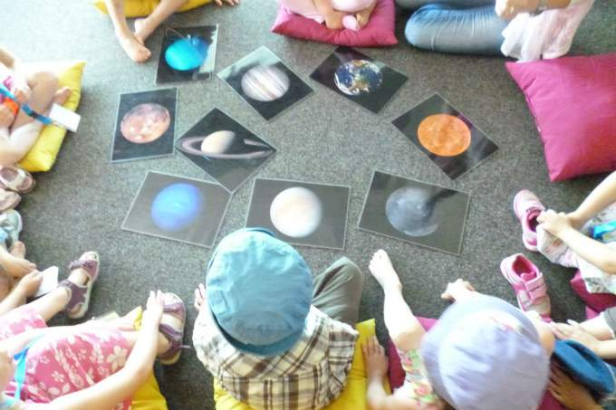 Kinder - Sterne - Planeten - Wichtel Akademie München