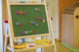 Tafel Kindergarten München Laim Wichtel Akademie