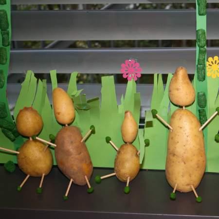 Kartoffelmännchen - Natur - Wichtel Akademie München