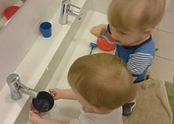 Kinderkrippe-Haralching-Wasser