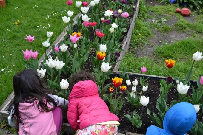 Tulpen - Kinder - Wichtel Akademie München