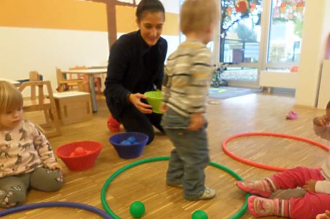 Spiele - Kinderkrippe - Wichtel Akademie München