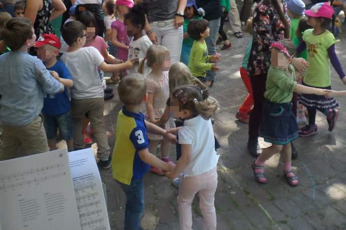 Kita-Fuerstenried-Musical-Tanz - Wichtel Akademie München
