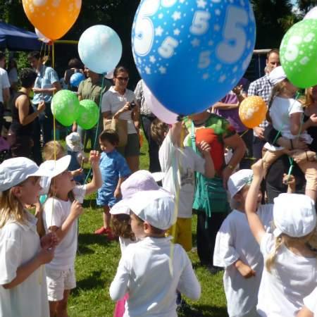 Sommerfest - Luftballon - Garching - Wichtel Akademie München