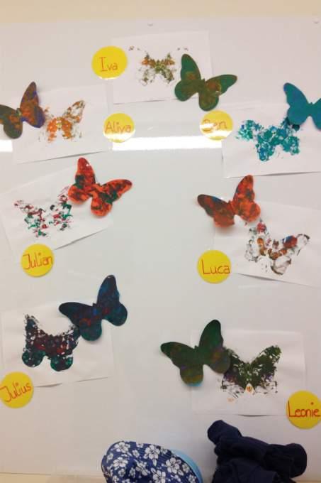 Schmetterlinge - Wichtel Akademie München