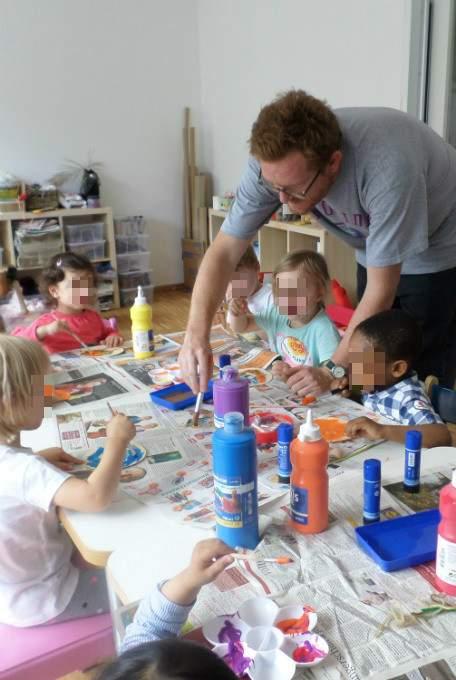 Englisch - Unterricht - Malen - Wichtel Akademie München