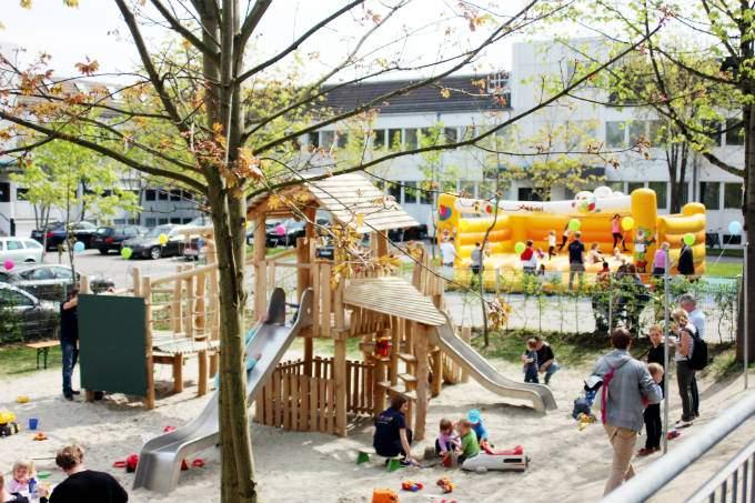 Rutschen - Kinder - Wichtel Akademie München