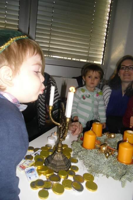 Kerzen - Kinder - Wichtel Akademie München