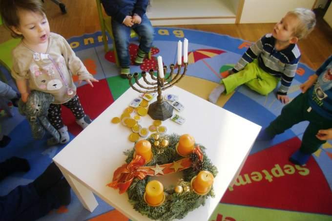 interkulturell - Hanukkah - Wichtel Akademie München