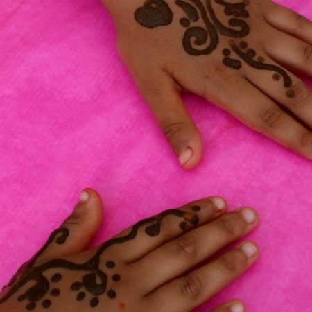 Hände - Henna - Sommerfest - Wichtel Akademie München