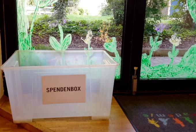 Spende - Box - Wichtel Akademie München