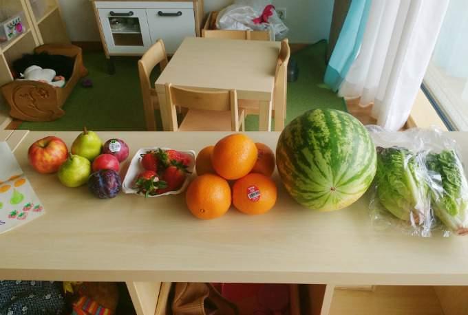 Obst - Bilingual - Wichtel Akademie München