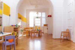Einrichtung Kindergarten München Schwabing Wichtel Akademie