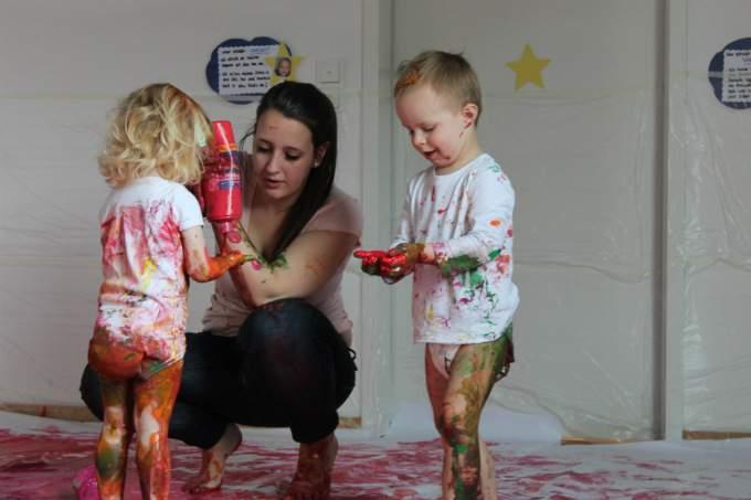 Farbe - Kinder - Wichtel Akademie München