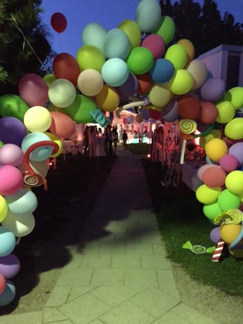 Sommerfest - Luftballon - Eingang - Wichtel Akademie München