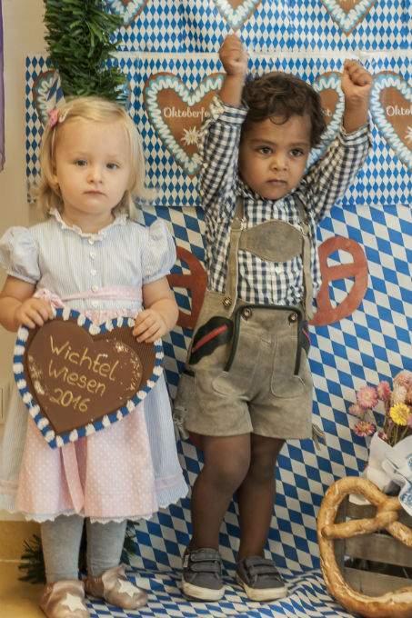 Wichtel-Wiesn-Oktoberfest-Kinderkrippe - Wichtel Akademie München