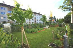 Außenbereich Kita am Biederstein in Schwabing Wichtel Akademie München