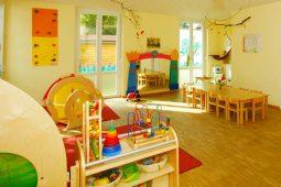 Spielzimmer Kindergarten München Obersendling Wichtel Akademie