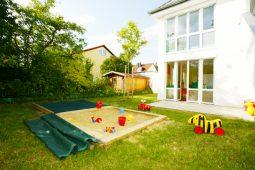 Garten Kinderkrippe Kindergarten München Obersendling Wichtel Akademie