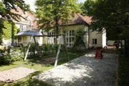 Garten Kita Harlaching Wichtel Akademie München