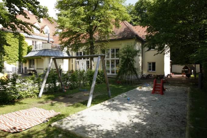 Kita_Harlaching an der Isar - Außenbereich - Wichtel Akademie München