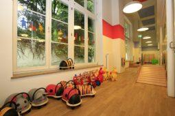 Innenraum Kita Harlaching Wichtel Akademie München