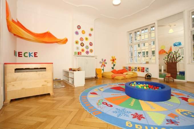 Spielzimmer Kita Schwabing Müncher Freiheit Wichtel Akademie