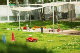 Garten Kinderkrippe und Kindergarten Trudering Wichtel Akademie München